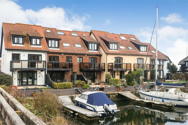 Thumbnail Town house for sale in White Heather Court, Hythe Marina Village, Hythe, Southampton, Hampshire