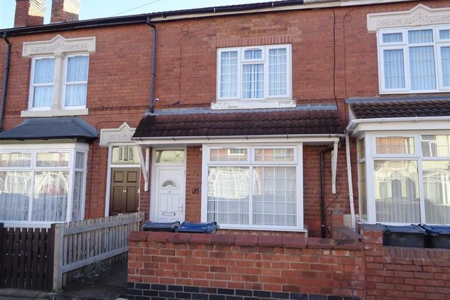 Thumbnail Terraced house for sale in Monk Road, Ward End, Birmingham