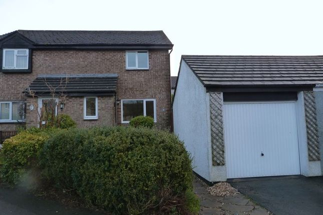 Thumbnail Semi-detached house to rent in Hazelwood Road, Callington