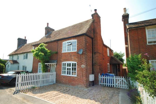 Thumbnail End terrace house for sale in Forge Cottage, Goodnestone, Faversham