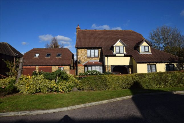 Thumbnail Detached house for sale in The Paddocks, Stapleford Abbotts, Romford, Essex