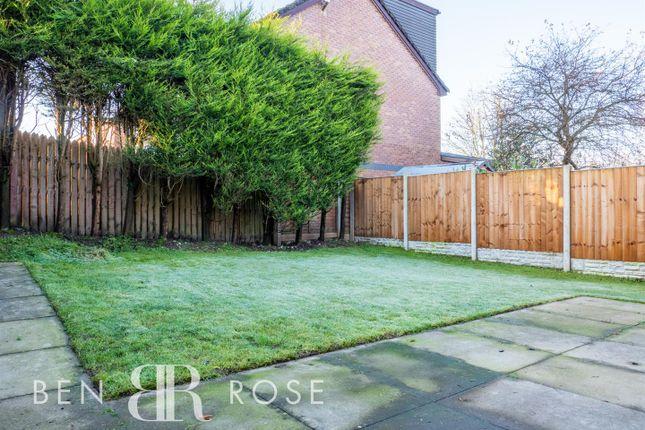 Garden of Fir Tree Close, Chorley PR7