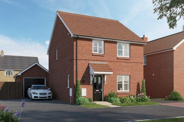 Thumbnail Detached house for sale in The Hopwood, Chapel End Road, Houghton Conquest