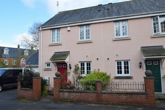 Thumbnail Semi-detached house to rent in Redvers Way, Tiverton