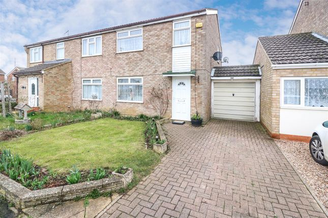 Thumbnail Semi-detached house for sale in Redding Close, Rushden