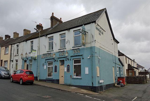 Thumbnail Pub/bar for sale in Freehold 101 Gilfach-Cynon, Merthyr Tydfil