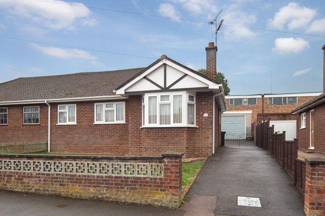 Thumbnail Semi-detached bungalow for sale in Sundown Avenue, Dunstable