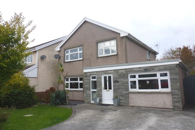 Thumbnail Detached house for sale in Hall Drive, North Cornelly, Bridgend