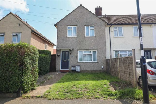 Thumbnail End terrace house for sale in Coldharbour Road, Waddon, Croydon