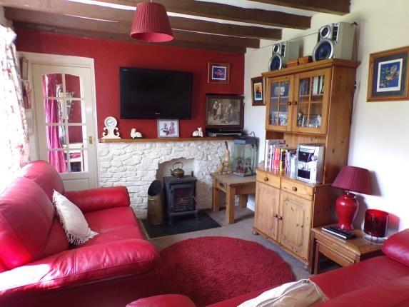 Living Room of Cae Rhug Lane, Gwernaffield, Mold, Flintshire CH7