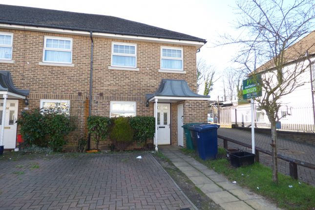 Thumbnail End terrace house to rent in Lancaster Road, New Barnet, Herts