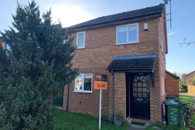 Thumbnail Semi-detached house to rent in The Oaks, Milton