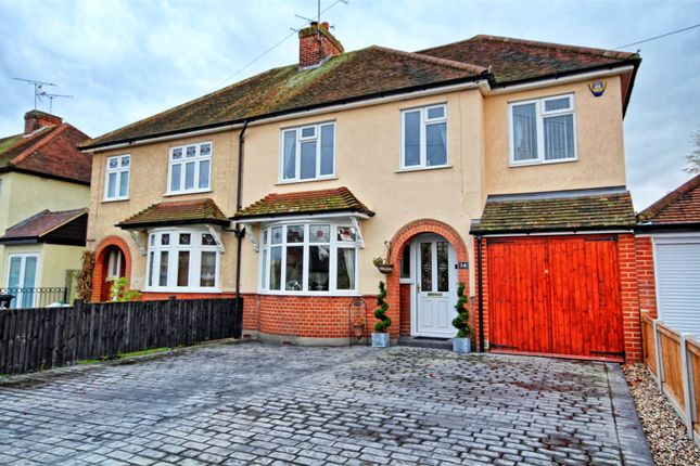 Thumbnail Semi-detached house for sale in Dorset Avenue, Chelmsford, Essex