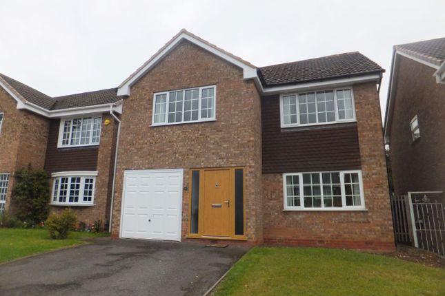 Thumbnail Detached house for sale in Arlescote Close, Four Oaks, Sutton Coldfield