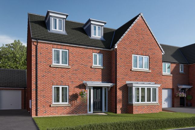 "Thumbnail Detached house for sale in ""The Colcutt"" at Roecliffe Lane, Boroughbridge, York"