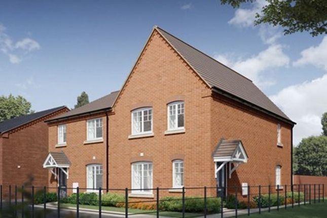 3 bed semi-detached house for sale in Weavers Way, Stockton, Southam