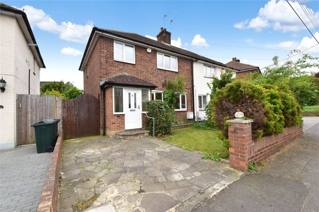 Thumbnail Semi-detached house for sale in Albert Road, Wilmington, Kent