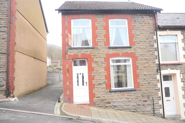 Thumbnail Terraced house for sale in Fir Grove, Pentre
