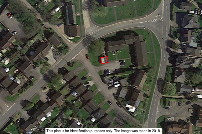 122 Aerial.Png of Garages Adjacent To 27-31 Draycott, Cam, Dursley, Gloucestershire GL11