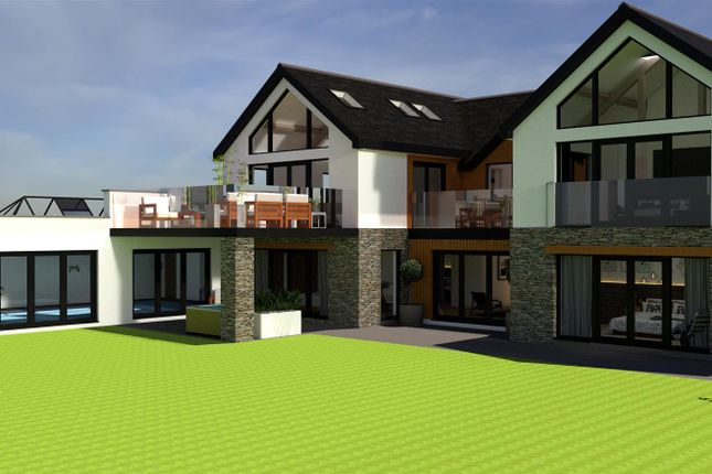 Rear Elevation With Swimming Pool