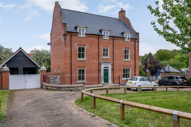 Thumbnail Detached house for sale in Devon Way, Trowse, Norwich