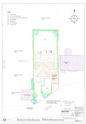 Thumbnail Land for sale in Beechwood Close, Ascot