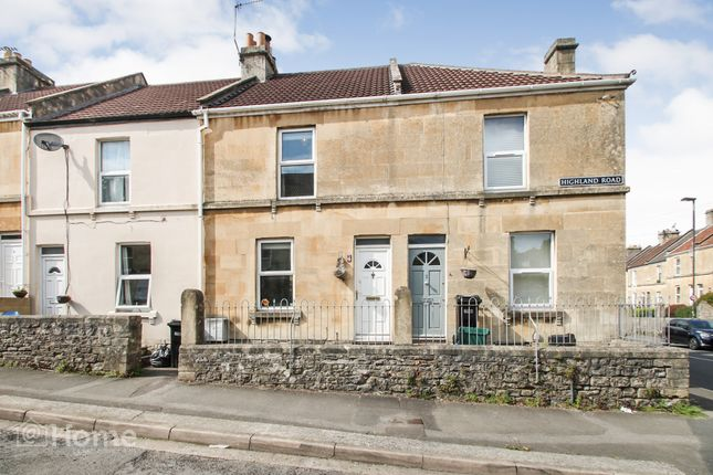 Thumbnail Terraced house for sale in Highland Road, Bath