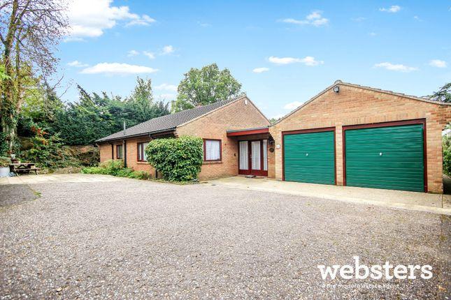 Thumbnail Detached bungalow for sale in Poplar Avenue, Off Newmarket Road, Norwich