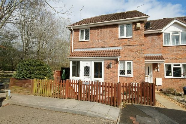 Thumbnail End terrace house for sale in Aintree Drive, Downend, Bristol