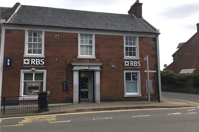 Thumbnail Retail premises for sale in 17, Earl Grey Street, Mauchline, Ayrshire, Scotland