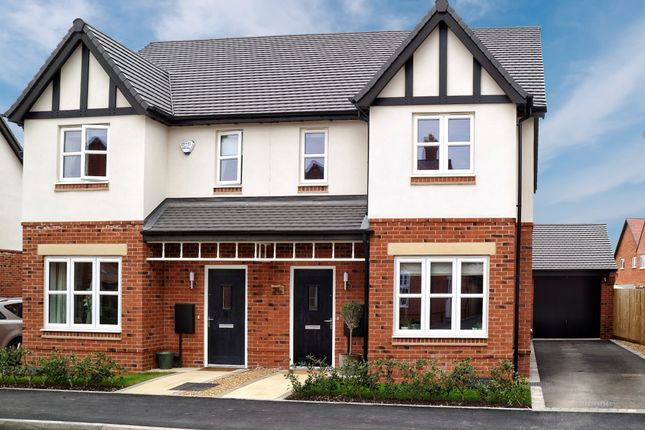 Thumbnail Semi-detached house for sale in Gardiner Road, Kineton, Warwick