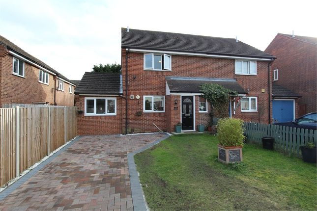 Thumbnail Semi-detached house for sale in Montgomery Close, Colchester, Essex