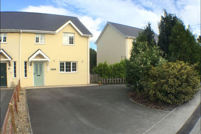 Thumbnail Semi-detached house to rent in Bro Mydyr, Mydroilyn, Lampeter