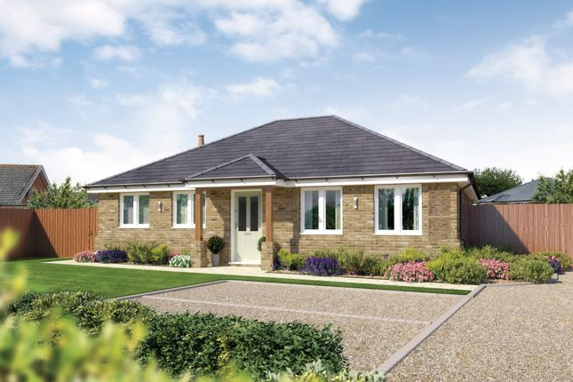 Thumbnail Detached bungalow for sale in Lavender Road, Hordle, Lymington