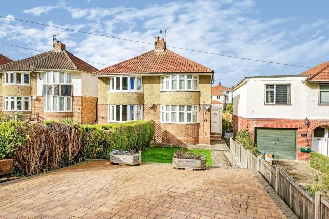 Thumbnail Semi-detached house for sale in Crabble Lane, Dover, Kent