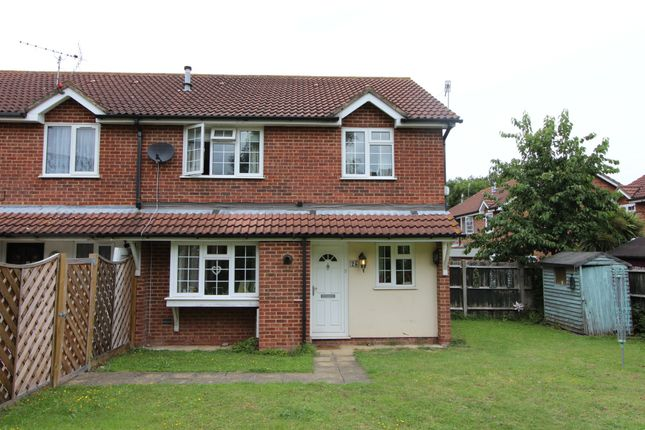 Thumbnail End terrace house to rent in Stonecross Lea, Chatham, Kent