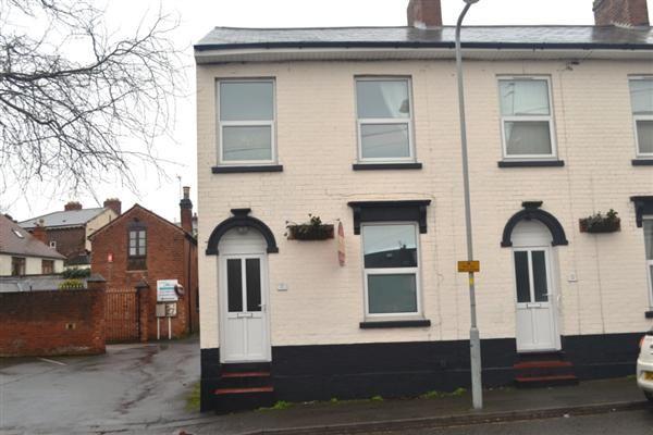 Thumbnail End terrace house to rent in Clarendon Street, Wolverhampton