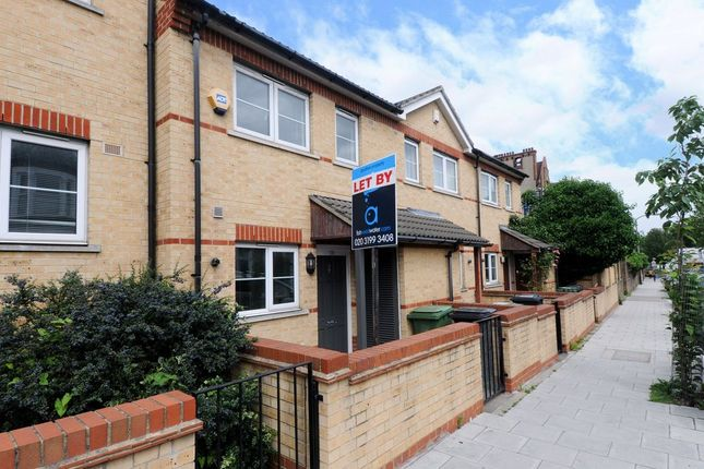 Thumbnail Terraced house to rent in St. Asaph Road, London
