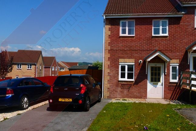 Thumbnail End terrace house to rent in Ffordd Melyn Mair, Llansamlet, Swansea