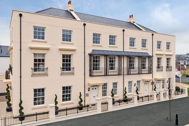 """Thumbnail Terraced house for sale in """"The Heybrook"""" at Haye Road, Sherford, Plymouth"""