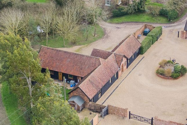 Aerial of Helions Bumpstead Road, Helions Bumpstead, Suffolk CB9