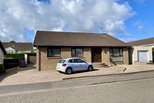 Thumbnail Detached bungalow for sale in Newark Crescent, Doonfoot, Ayr