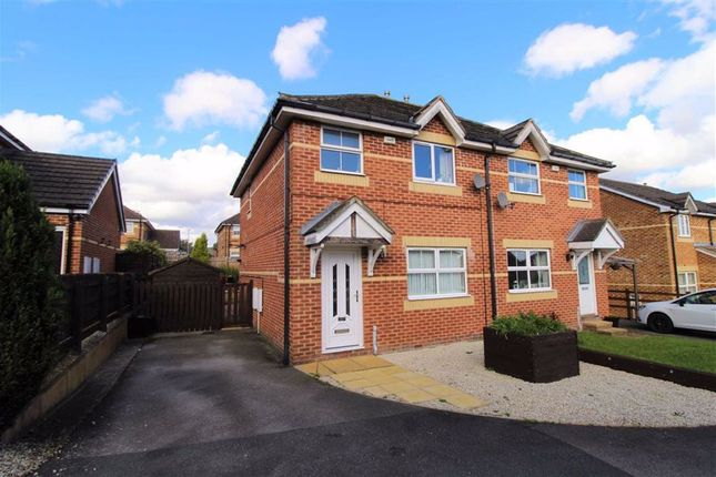 Thumbnail Semi-detached house for sale in Mulberry Court, Golcar, Huddersfield