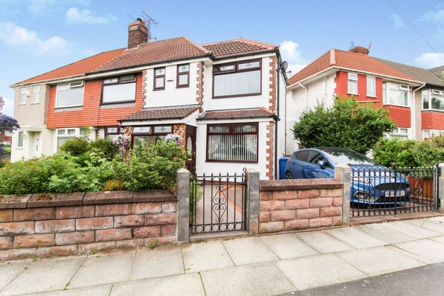 Thumbnail Semi-detached house for sale in Southmead Road, Liverpool