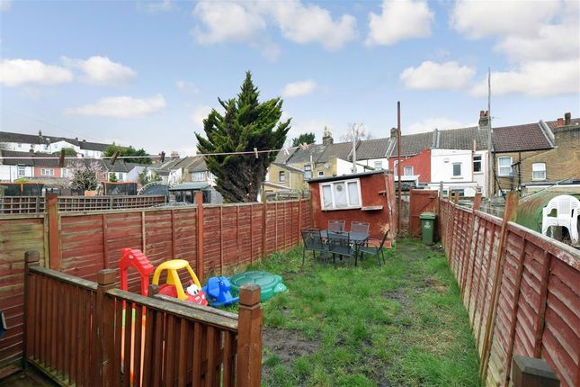 Rear Garden of Grove Road, Chatham, Kent ME4
