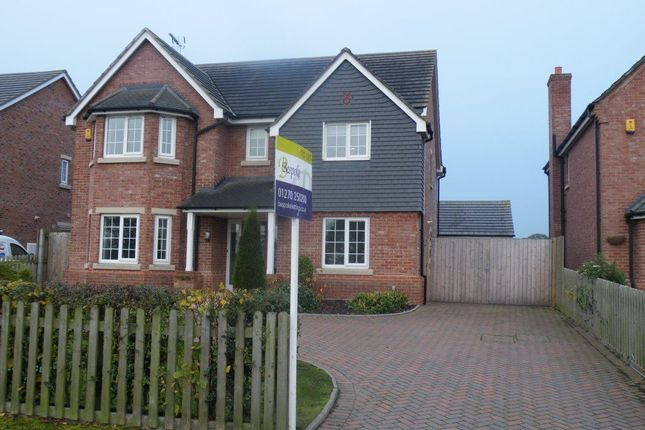 Thumbnail Detached house to rent in Woore Road, Audlem, Crewe
