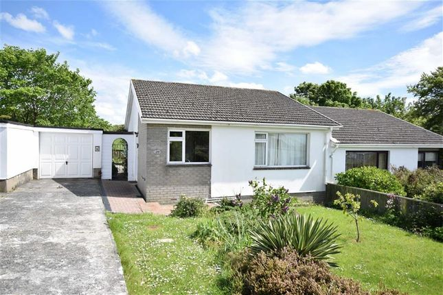 Thumbnail Semi-detached bungalow for sale in Poughill, Bude, Poughill