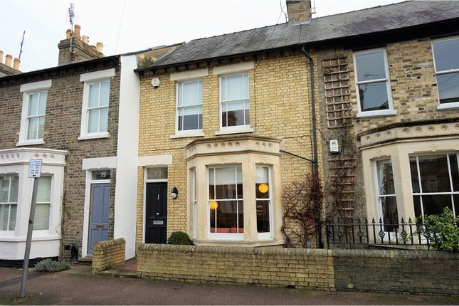 Thumbnail Terraced house for sale in Mawson Road, Cambridge
