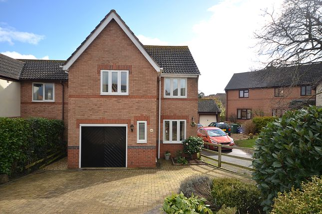Thumbnail Detached house for sale in Miller Way, Exminster, Near Exeter