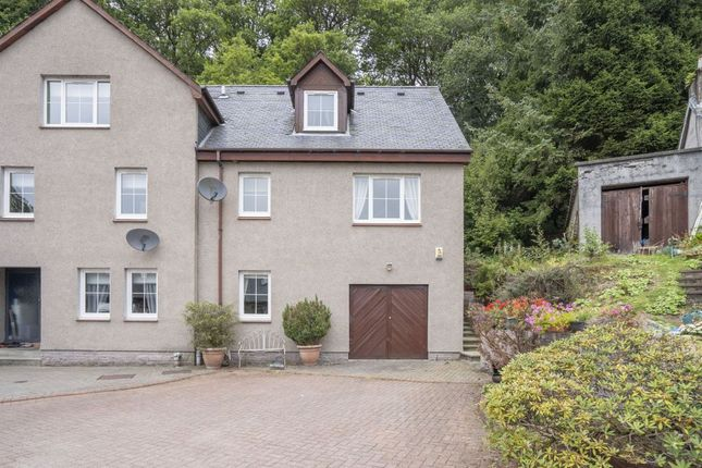 Thumbnail Town house for sale in 1 Staball Ard, Aberfoyle